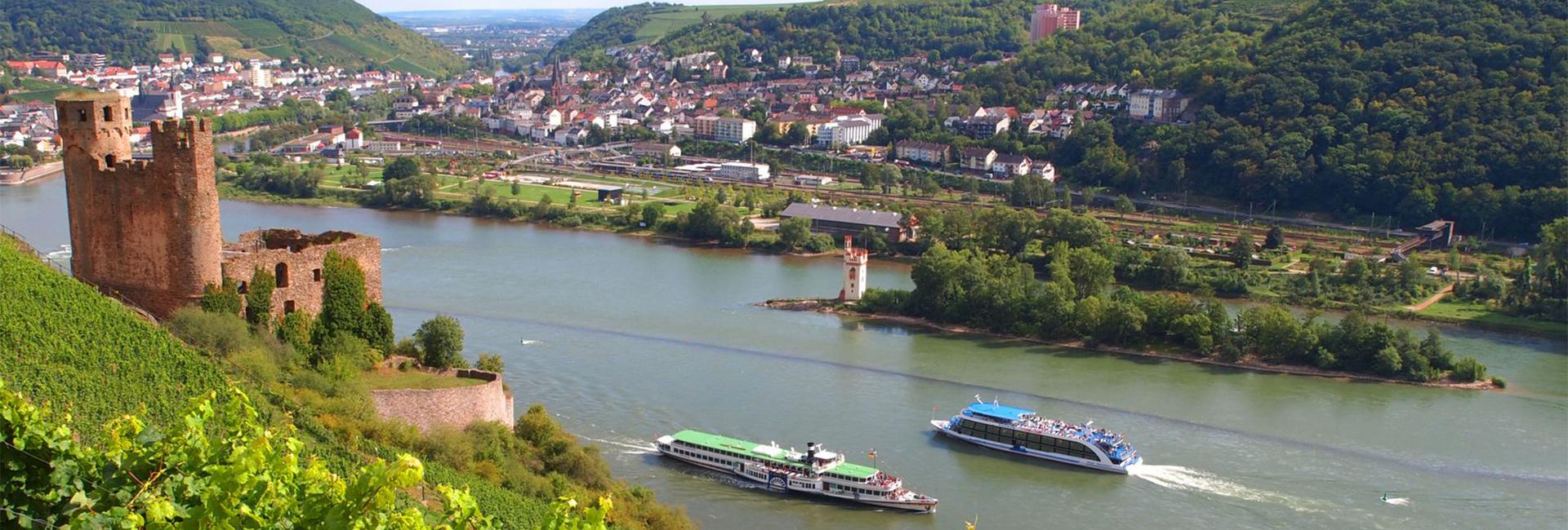 2019: 6-dages all incl. tur til Rüdesheim m. Rhinen i Flammer show